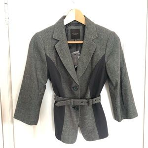 NEW The Limited | Belted Grey Blazer | XS
